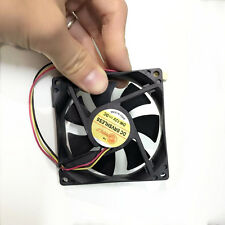 CPU Case Fan 12V 0.12A DC 50CFM PC Computer Cooling Sleeve Bearing 80mm 25mm FBC