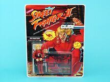 1993 GI JOE STREET FIGHTER II KEN MASTERS v1 MOSC MOC EURO CARD HASBRO