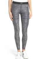 Nike Golf Grey/Black Print Women's Leggings Size XL 53215