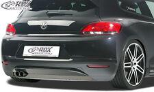 RDX Heckansatz VW Scirocco 3 (-2014) Heck Ansatz Schürze Diffusor Hinten PUR ABS