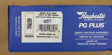 BRAND NEW RAYBESTOS 657 REAR BRAKE SHOE SET FITS VEHICLES LISTED ON CHART