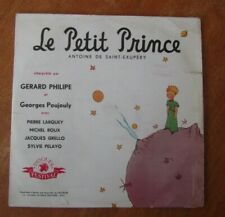 ANCIEN DISQUE 33 TOURS 25 CM LE PETIT PRINCE SAINT EXUPERY GERARD PHILIPPE