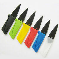 New Outdoor Blade Handy Cardsharp Credit Card  Knives Safety Folding Knife