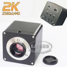 2K QHD HDMI 1080P@60fps FHD Industrial Microscope Digital Video Camera C mount S