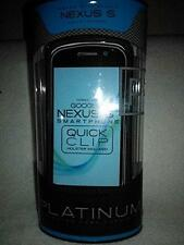 Platinum PT Case cover with holser clip for Google Nexus S SNC2OSB by Seido