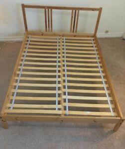 IKEA Bed Frame Full size Pine