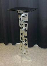 Aluminum Magic Folding Table (Alloy)- Silver Color Magic Tricks Stage Illusions