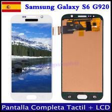 PANTALLA LCD + TACTIL DIGITALIZADOR PARA SAMSUNG GALAXY S6 G920F G920 BLANCO