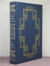 1st, signed by 2, Blue Mars by Kim Stanley Robinson, Easton Press, Hugo Award