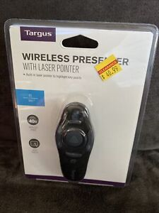 Targus Wireless Presenter with Laser Pointer 40ft range - New!~ PC / MAC $41 Ret