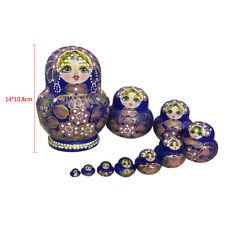 bambole russe di legno nidificazione babushka matrioska # 7