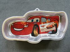 NWT WILTON DISNEY CARS LIGHTNING McQUEEN CAKE PAN MOLD INSTRUCTIONS #2105-6400