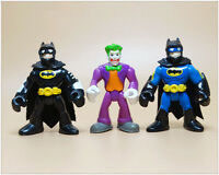 LOT 3 DC Fisher Price Imaginext DC Comics Super Friends Batman THE JOKER 2.5""