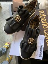 roberto cavalli Ballet Shoes Black 6US