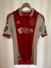 AFC AJAX NETHERLANDS 2011/2012 HOME FOOTBALL SHIRT JERSEY SIZE S CL ADIDAS