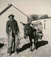Nouveau-Mexique c. 1940 - Un Trappeur USA - DIV 9483