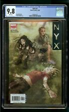 NYX #7 (2005) CGC 9.8 LAST ISSUE 1st PRINT