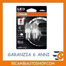 2 LAMPADINE OSRAM P21/5W LED RED 1557R-02B