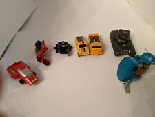 Vintage toy lot for parts: Transformers, GoBots, Select, MC Dyna Drive