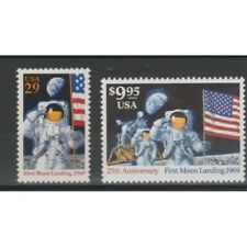 1994 United States USA 25 Man on Moon 2 Val MNH MF75249