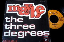 """THE THREE DEGREES/MAYBE/SOUL/ROULETTE/FRENCH 7"""" SP"""