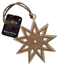 árbol de Navidad Estrella Decoración Madera Colgante Adorno, ARPILLERA DETALLE