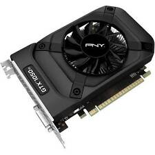 PNY - NVIDIA GeForce GTX 1050 Ti 4GB GDDR5 PCI Express 3.0 Graphics Card - Black