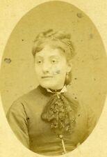 France Paris Actress Litta Theater Italiens Studio Carjat Old CDV Photo 1877