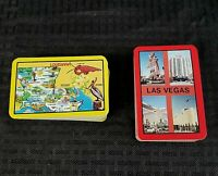 Playing Cards Miniature 2 Decks Las Vegas Circus Circus Louisiana State Vintage