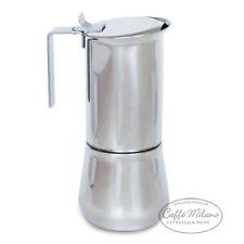ILSA Express Espressokocher Herdkocher 9 Tassen poliert - Caffe Milano