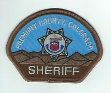 COLORADO - Fremont County Sheriff patch