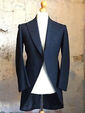 Vintage 1960's Bespoke Morning Coat Tails Tailcoat Size 40 Mc120)