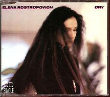 ELENA ROSTROPOVICH - CRY - CD MAXI [2085]