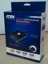 ATEN US224,/ 2 PCs 4x 1 USB 2.0 aktiv
