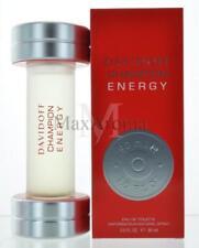 Champion Energy By Davidoff For Men   Eau De Toilette 3 OZ 50 ML Spray