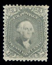 Momen: Us Stamps #78b Grey Mint Ogph Pse Cert