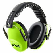 Adjustable Kids Safety Ear Muffs Green Ear Protection 26dB/Snr Noise Canceling