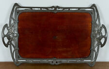 Unbekannt (20th), Jugendstil Tablett, Kunsthandwerk