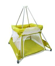 BABYHUB SLEEPSPACE | PREMIUM TRAVEL COT AND TEPEE | KIWI | NEW | FREE P&P