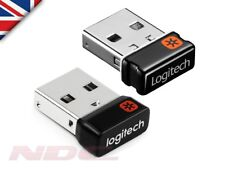 Genuine Logitech Unifying Receiver-Wireless Mouse/Keyboard USB Dongle-6 Devices