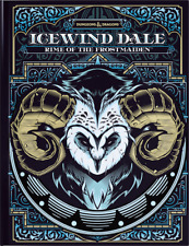 Icewind Dale - Rime of the Frostmaiden Book Special Alternate Cover D&D
