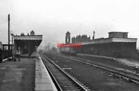 PHOTO  BURY ST EDMUNDS RAILWAY STATION SUFFOLK 1966 GER ELY AND CAMBRIDGE - NEWM