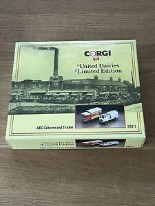 Vintage Corgi D67/1 AEC Cabover&Tanker Set United Dairies
