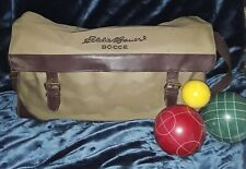Eddie Bauer Bocce Ball Set In Canvas Case