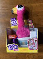 Little Live Pets Gotta Go Pink Flamingo Sherbert Eat Sing Poop Singing Pooping