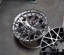 Avid1 AV36 18x8.5 +35 5x100 Silver Corolla XD TC Celica FRS BRZ GT86 Matrix Golf