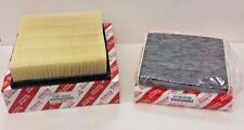 LEXUS OEM FACTORY CHARCOAL CABIN FILTER AND AIR FILTER SET 2010-2015 RX350