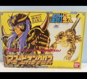 BANDAI Saint Seiya Gold cloth scorpio milo Vintage 1987 rare!! from japan