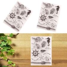 1pcs Silicone Clear Stamp Seal Scrapbooking Diary Good Cards For Xmas