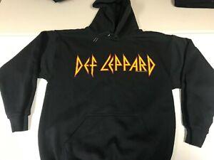 Def Leppard New Medium Hysteria Euphoria Tour Hoodie Hooded Sweat Shirt 2000